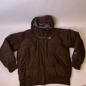 The North Face Brown 550 Down Jacket, L